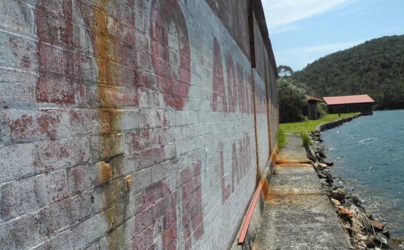 Exploring Sydney's old explosives storage