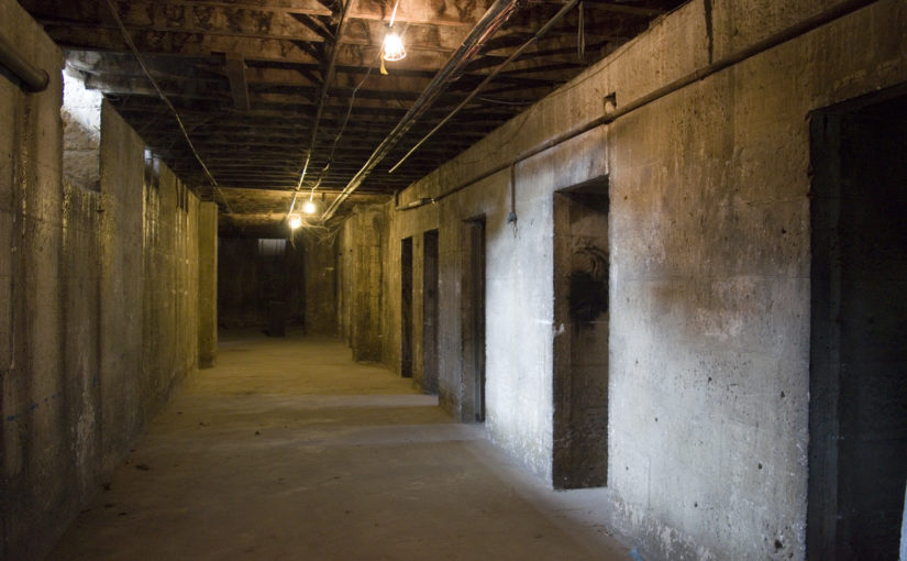 Return to Callan Park to visit the secret tunnels