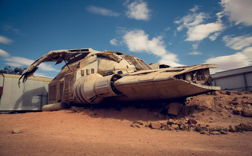 The crashed spaceship of Coober Pedy